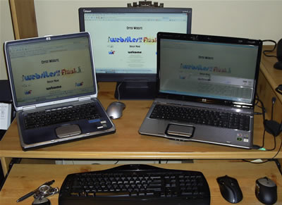 Websites in a Flash Computer Fleet!