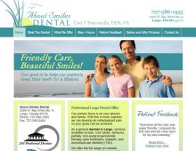About Smiles Dental Website Design