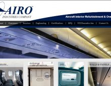 AIRO Industries Website Design