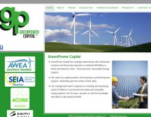 Green Power Capital Website Design
