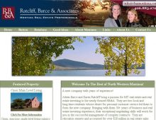 Ratcliff Barce and Associates Website Design